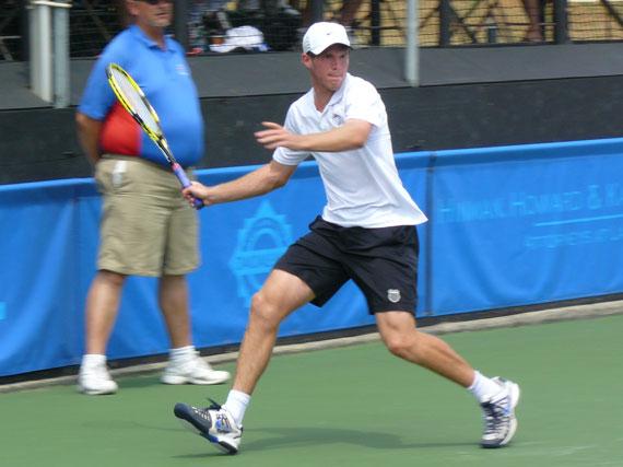 Mitchell Frank at Binghamton Challenger