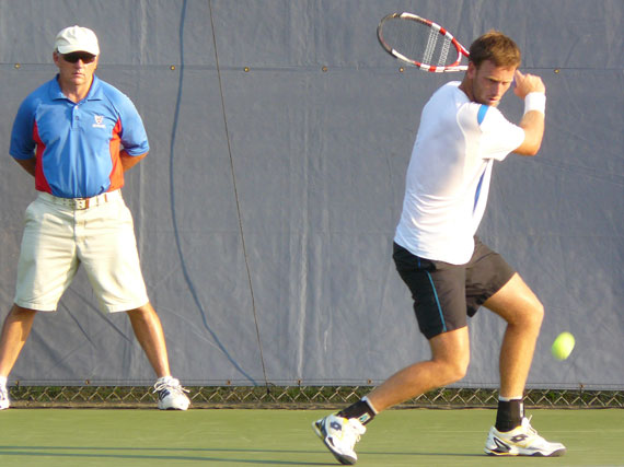 Michael Venus at Binghamton Challenger