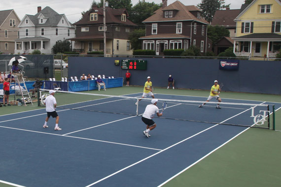 Binghamton Challenger Doubles Final match