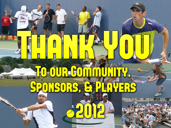 Thank you to our community sponsors and players 2012