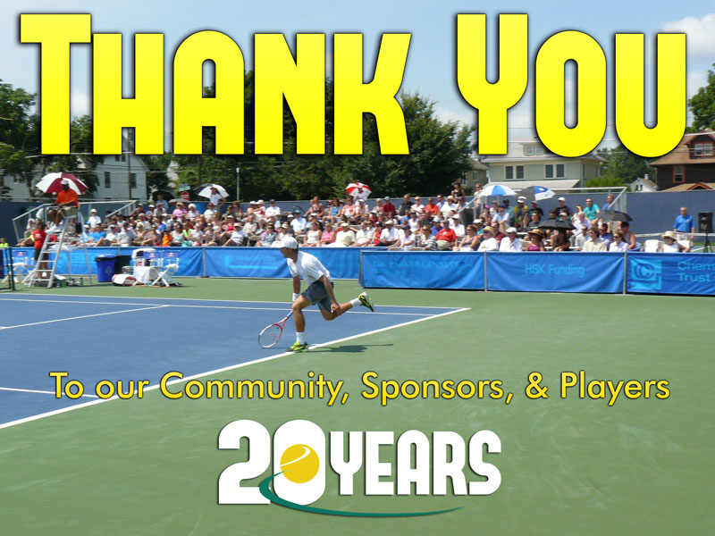 Thank you to our community, sponsors, and players
