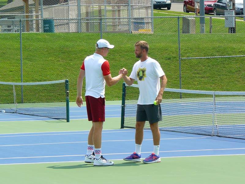 Edmund and coach